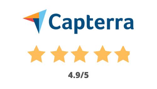 4.9/5 on Capterra